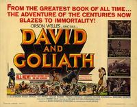 David and Goliath - 22 x 28 Movie Poster - Half Sheet Style A