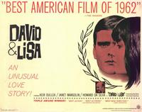 David and Lisa - 11 x 14 Movie Poster - Style A