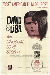 David and Lisa - 27 x 40 Movie Poster - Style A