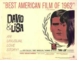 David and Lisa - 22 x 28 Movie Poster - Half Sheet Style A