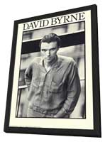 David Byrne - 11 x 17 Music Poster - Style A - in Deluxe Wood Frame