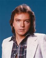 David Cassidy - Gone With The Wind Lady wearing Black Gown with Hat