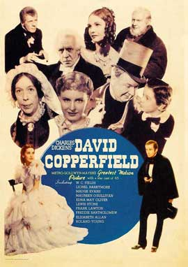 David Copperfield - 11 x 17 Movie Poster - Style B