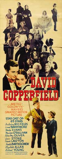David Copperfield - 14 x 36 Movie Poster - Insert Style A
