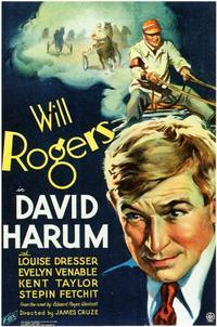 David Harum - 11 x 17 Movie Poster - Style A
