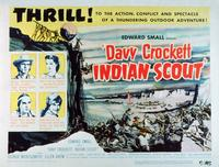 vy Crockett, Indian Scout - 11 x 14 Movie Poster - Style A