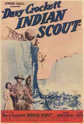 vy Crockett, Indian Scout - 27 x 40 Movie Poster - Style A