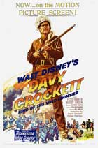 Davy Crockett, King of the Wild Frontier - 11 x 17 Movie Poster - Style A