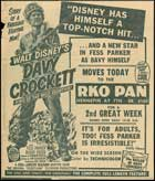 Davy Crockett, King of the Wild Frontier - 11 x 14 Movie Poster - Style B