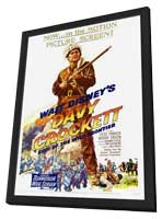 Davy Crockett, King of the Wild Frontier - 27 x 40 Movie Poster - Style A - in Deluxe Wood Frame