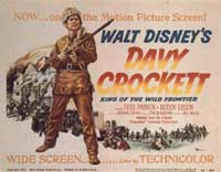 Davy Crockett, King of the Wild Frontier - 22 x 28 Movie Poster - Style A