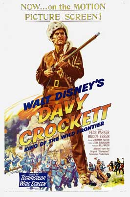 Davy Crockett, King of the Wild Frontier - 27 x 40 Movie Poster - Style A