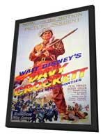 Davy Crockett - 11 x 17 Movie Poster - Style B - in Deluxe Wood Frame