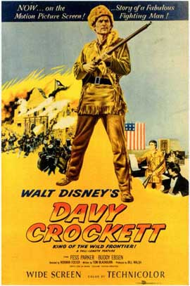 Davy Crockett - 11 x 17 Movie Poster - Style A