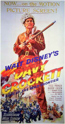 Davy Crockett - 11 x 17 Movie Poster - Style B