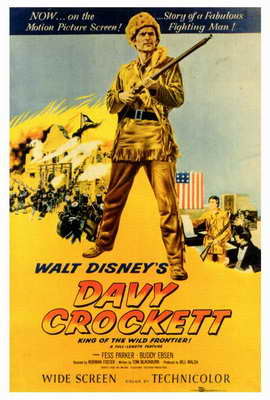 Davy Crockett - 27 x 40 Movie Poster - Style A