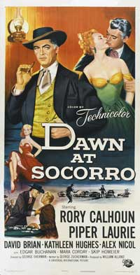 Dawn at Socorro - 20 x 60 - Door Movie Poster - Style A
