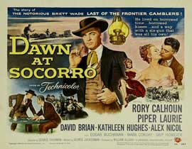 Dawn at Socorro - 11 x 14 Movie Poster - Style A