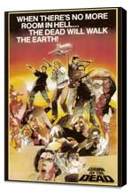 Dawn of the Dead - 11 x 17 Movie Poster - Style C - Museum Wrapped Canvas