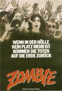 Dawn of the Dead - 43 x 62 Movie Poster - German Style A