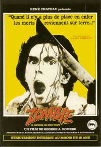 Dawn of the Dead - 27 x 40 Movie Poster - Italian Style A