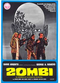 Dawn of the Dead - 11 x 17 Movie Poster - Spanish Style A