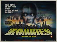 Dawn of the Dead - 30 x 40 Movie Poster UK - Style A