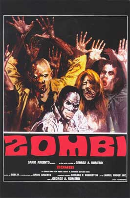 Dawn of the Dead - 11 x 17 Movie Poster - Italian Style C