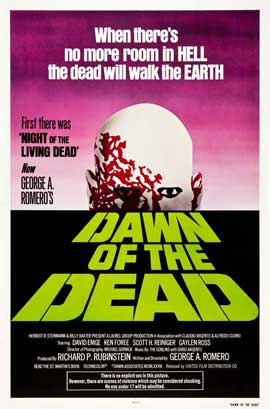 Dawn of the Dead - 11 x 17 Movie Poster - Style E