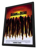 Dawn of the Dead - 11 x 17 Movie Poster - Style A - in Deluxe Wood Frame