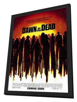 Dawn of the Dead - 27 x 40 Movie Poster - Style A - in Deluxe Wood Frame