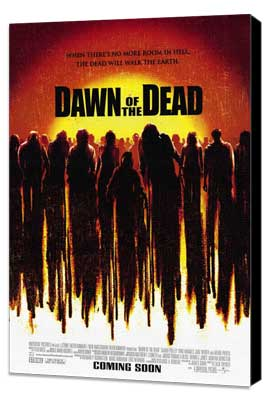 Dawn of the Dead - 27 x 40 Movie Poster - Style A - Museum Wrapped Canvas