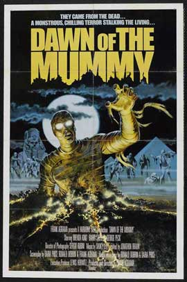 Dawn of the Mummy - 11 x 17 Movie Poster - Style A