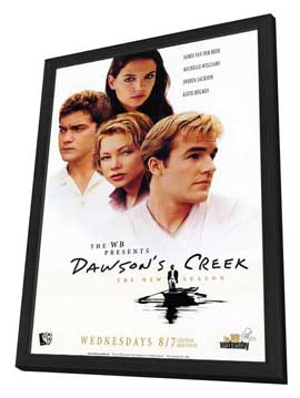Dawson's Creek - 11 x 17 TV Poster - Style A - in Deluxe Wood Frame