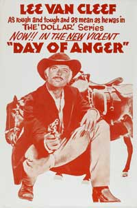 Day of Anger - 11 x 17 Movie Poster - Style B