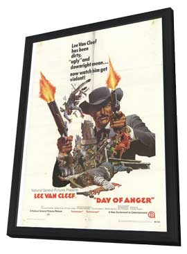 Day of Anger - 27 x 40 Movie Poster - Style A - in Deluxe Wood Frame