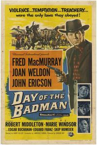 Day of the Bad Man - 27 x 40 Movie Poster - Style A