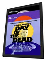 Day of the Dead - 11 x 17 Movie Poster - Style A - in Deluxe Wood Frame