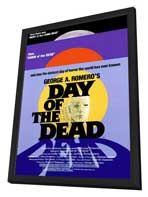 Day of the Dead - 27 x 40 Movie Poster - Style A - in Deluxe Wood Frame