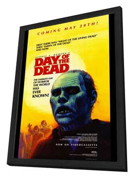 Day of the Dead - 27 x 40 Movie Poster - Style B - in Deluxe Wood Frame
