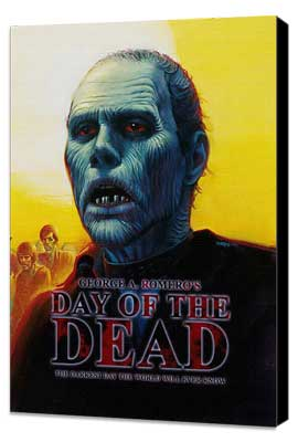 Day of the Dead - 11 x 17 Movie Poster - Style C - Museum Wrapped Canvas