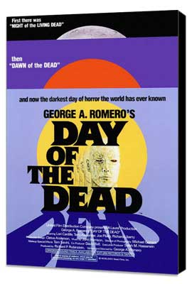 Day of the Dead - 27 x 40 Movie Poster - Style A - Museum Wrapped Canvas
