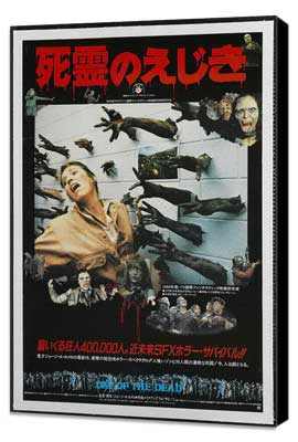 Day of the Dead - 27 x 40 Movie Poster - Japanese Style A - Museum Wrapped Canvas