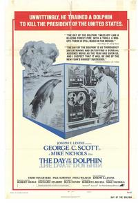 The Day of the Dolphin - 11 x 17 Movie Poster - Style B