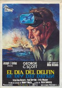 The Day of the Dolphin - 27 x 40 Movie Poster - Spanish Style A