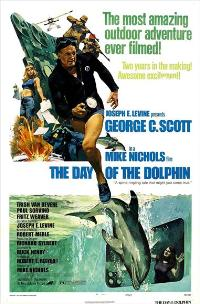 The Day of the Dolphin - 27 x 40 Movie Poster - Style D