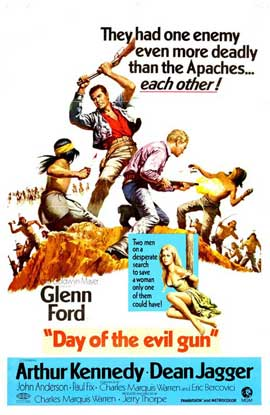 Day of the Evil Gun - 11 x 17 Movie Poster - Style A