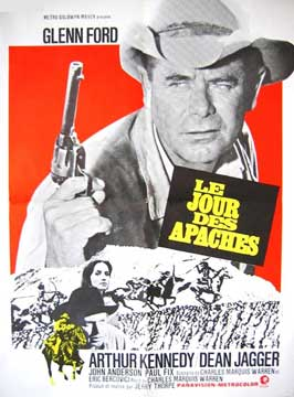 Day of the Evil Gun - 11 x 17 Movie Poster - French Style A