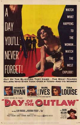 Day of the Outlaw - 11 x 17 Movie Poster - Style A