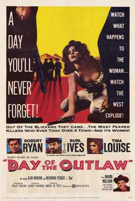 Day of the Outlaw - 27 x 40 Movie Poster - Style A